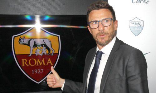 Roma, Di Francesco ammette: 'Non me lo aspettavo, ma ci sono delle trattative per Dzeko ed Emerson'